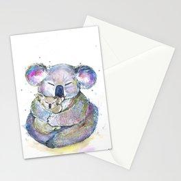 Kuddly Koalas Stationery Cards