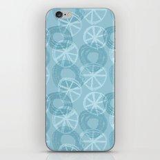 Abstract circles iPhone & iPod Skin