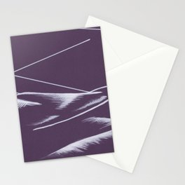 Hill in the Evening Stationery Cards