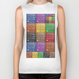 shipping container color box Biker Tank