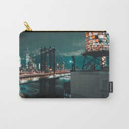 The Water Tower New York City (Color) Carry-All Pouch