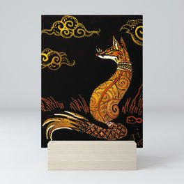 There Are No Foxes In Thailand Mini Art Print
