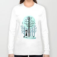 snow white Long Sleeve T-shirts featuring Snow White by Freeminds