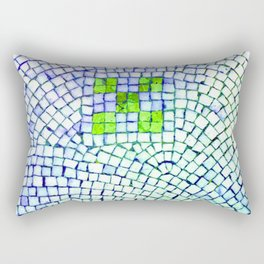 artisan 22.06.16 in lime & shades of blue Rectangular Pillow