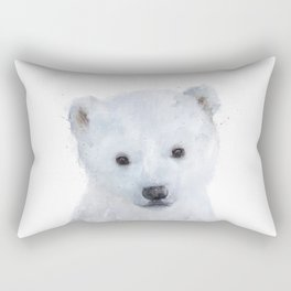 Little Polar Bear Rectangular Pillow