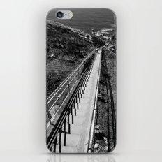 Point Reyes Lighthouse B&W iPhone & iPod Skin