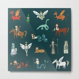 Creatures Metal Print