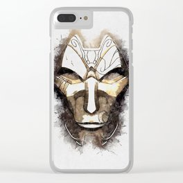 A Tribute to JHIN the Virtuoso Clear iPhone Case