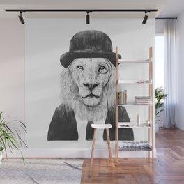Sir lion Wall Mural