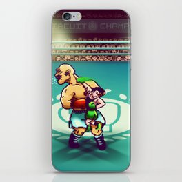 Punch-Out!! iPhone Skin
