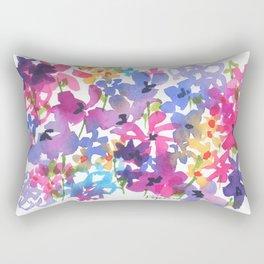 Fancy Florets Rectangular Pillow