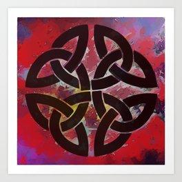 The Infinity Knot Art Print