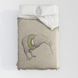 Kiwi Anatomy Comforters