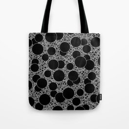 calm chaos inverted Tote Bag