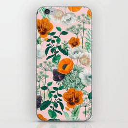 Wildflowers #pattern #illustration iPhone Skin
