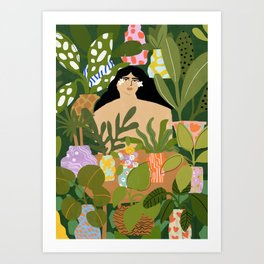 I Need More Plants Art Print