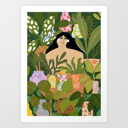 I Need More Plants Art Print