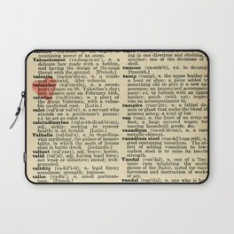Valentine's Day (female version) Laptop Sleeve