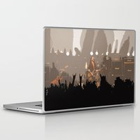 rock and roll Laptop & iPad Skins featuring Motorhead Rock and Roll  by Premium