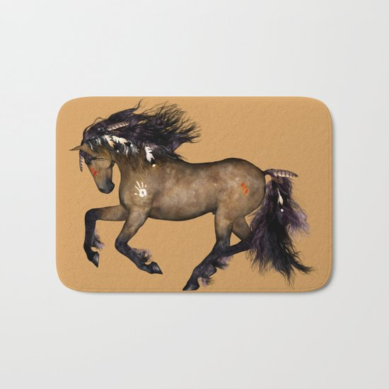 HORSE - Cherokee Bath Mat