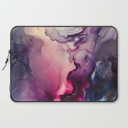 Mission Fusion - Mixed Media Painting Laptop Sleeve