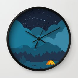 On the night like this Wall Clock