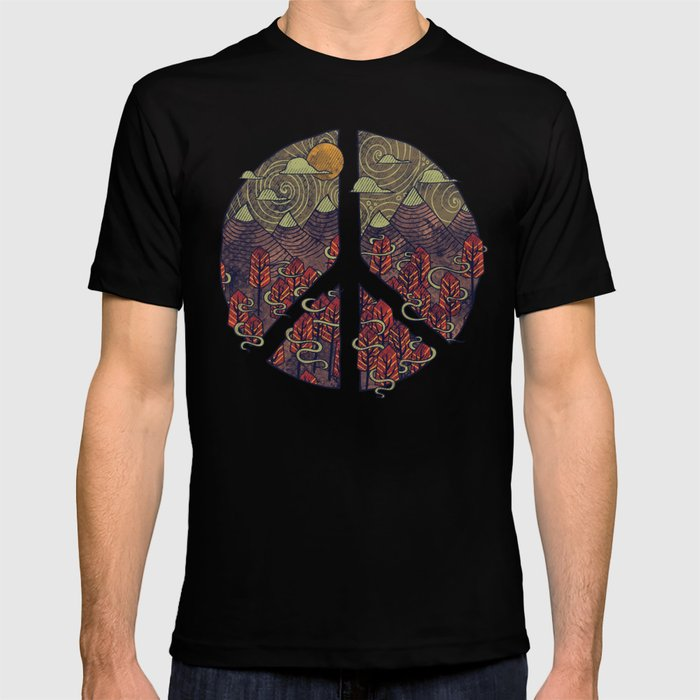 Peaceful Landscape T-shirt
