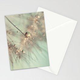 dandelion mint Stationery Cards