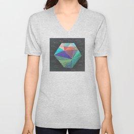 Inverted Color Study Unisex V-Neck