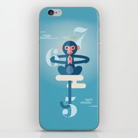 pixies iPhone & iPod Skins featuring Monkey Gone to Heaven by DWatson