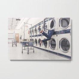 laundry Metal Print