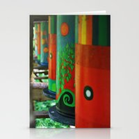 drums Stationery Cards featuring Tin Drums by  Alexia Miles photography