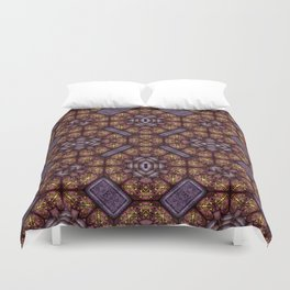 Victorian Art Deco Medieval Pattern SB15 Duvet Cover