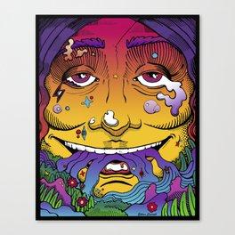 Living, Breathing Canvas Print