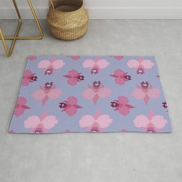 Orchids - seamless #2 Rug