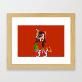 Chloe Bennett Framed Art Print
