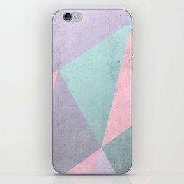 Floral Geometry iPhone Skin