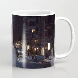 Winter dusk in New York Coffee Mug