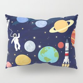 In space Pillow Sham