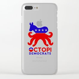 Octopi Democrats Clear iPhone Case