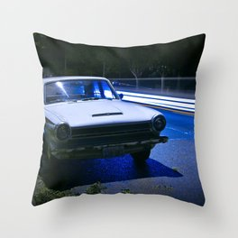 classic lines on 6th street Throw Pillow