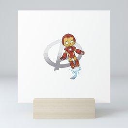 Iron Smirk Mini Art Print