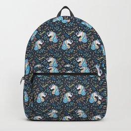 Pattern unicorn, little princess Backpack