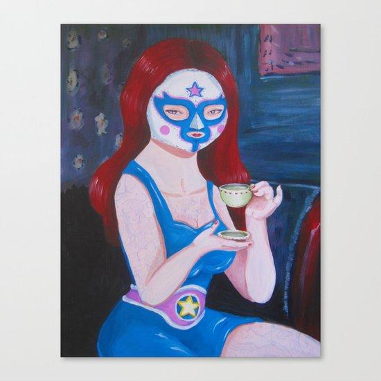 Sweetie girl Canvas Print