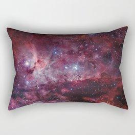 Carina Nebula of the Milky Way Galaxy Rectangular Pillow
