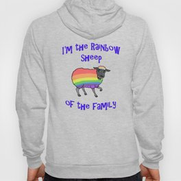Rainbow Sheep of the Family Hoody