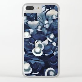 QUITTIN' TIME Clear iPhone Case