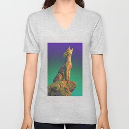 Coyote Call Unisex V-Neck