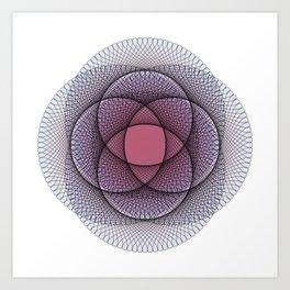 Ah Um Design #011b Art Print