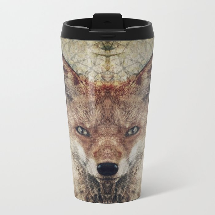 Fox II Metal Travel Mug